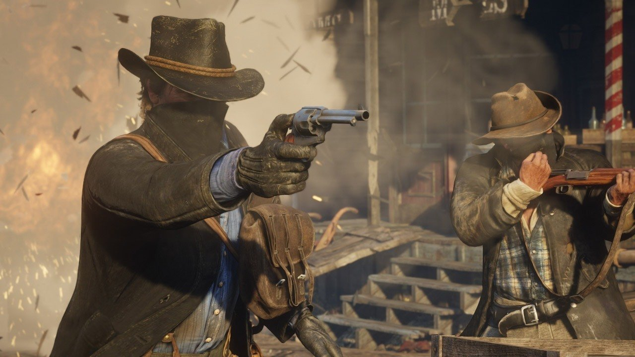 Игра PS4 Red Dead Redemption 2. Фото N5
